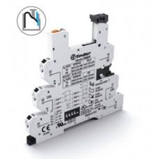 93690024, Розетка, серия MasterTimer с безвинтовыми клеммами Push-in для реле 34 серии; встроенный таймер мультифункциональный (AI, DI, GI, SW, BE, CE, DE, EE); регулировка времени 0.1с…6ч; питание 12-24В AC/DC; в комплекте пластиковая клипса; опции: LED